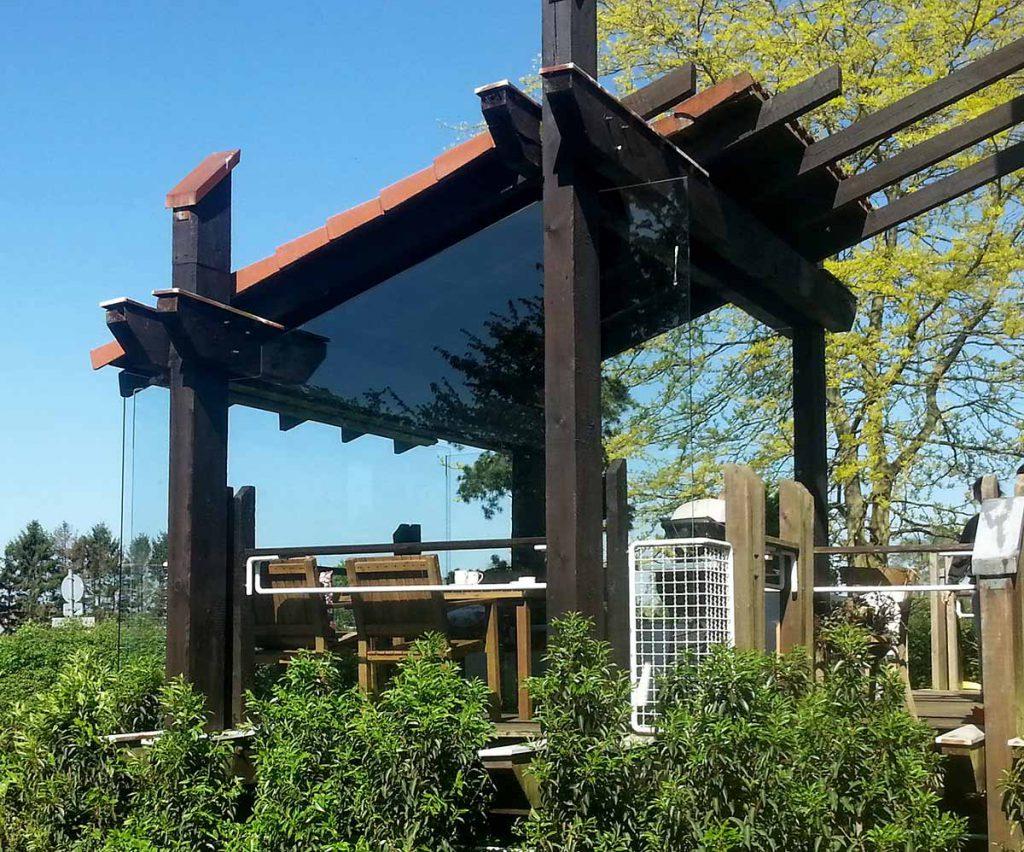 Wintergarten - Glasabtrennung